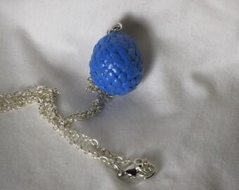 Dragon's Egg Necklace - Blue