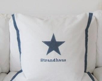 """pillow/cushion """"Beach House"""""""