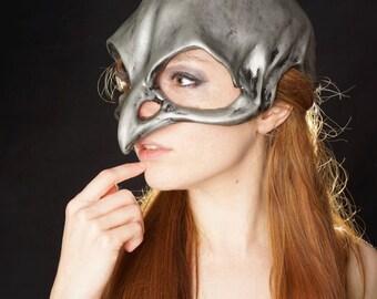 Silver sparrow skull mask