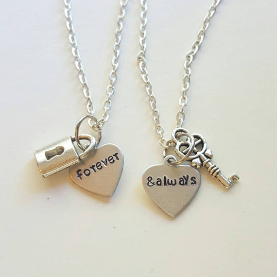 Forever Amp Always Necklace Set Couple Necklaces By Megal0d0nn