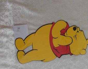 pooh bear wall hanging