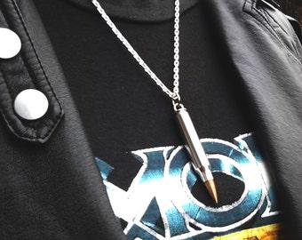 Bullet Pendant Necklace ~ Bullet charm necklace ~ Genuine Bullet Pendant