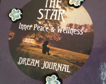 Dream Journal The Star A5 Hardcover Notebook