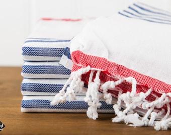 S A L E,  Whitehaven Turkish Towel, Peshtemal, Beach Towel, Hammam Towel