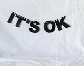 It's Okay Banner