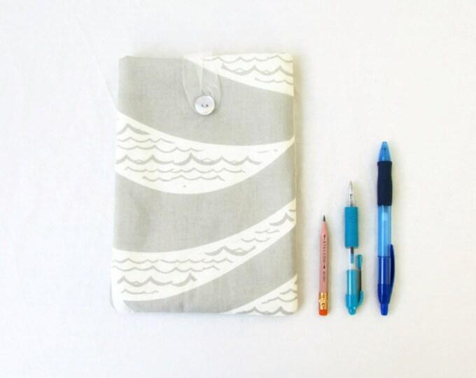 Grey Ipad mini 4 cover, handmade in the UK
