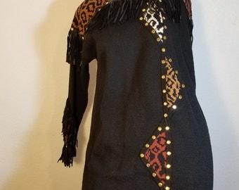 FREE  SHIPPING  Lillie Rubin Knit Dress