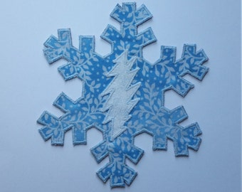 GD 13 Point Bolt Snowflake Patch