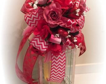 Valentines Day Lantern swag/ VALENTINES DAY GIFT/ valentines decoration