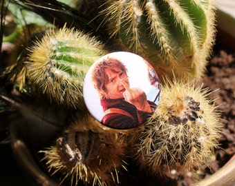 Martin Freeman as Bilbo Baggins in The Hobbit 32mm pin back badge