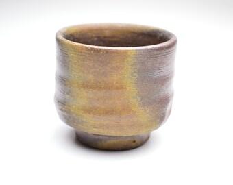 Wood fired Bizen Yunomi Tea Cup Yasui Tooru 1/2