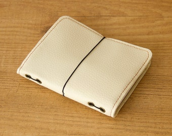 Fauxdori cover, Travelers Notebook, Vegan fauxdori, Faux leather journal, Midori cover, Vegan journal, Bullet journal, Vegan planner