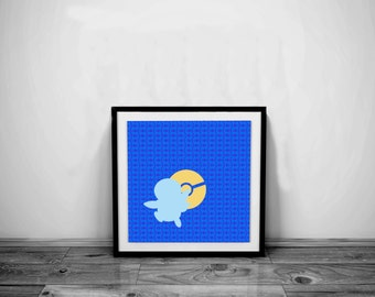 Piplup etsy - Poster pokemon a imprimer ...