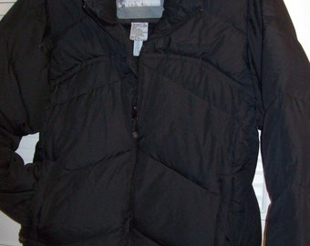 Vintage Black Ski Jacket by Polar Edge. Size Medium PERFECT