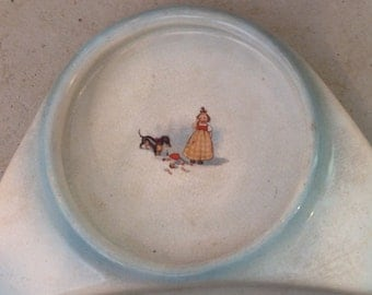 Antique child's food dish for high chair