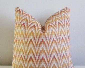 Vibrant Decorative Pillow Cover 18x18, 20x20 Square Throw Pillow, Accent Pillow, Toss Pillow