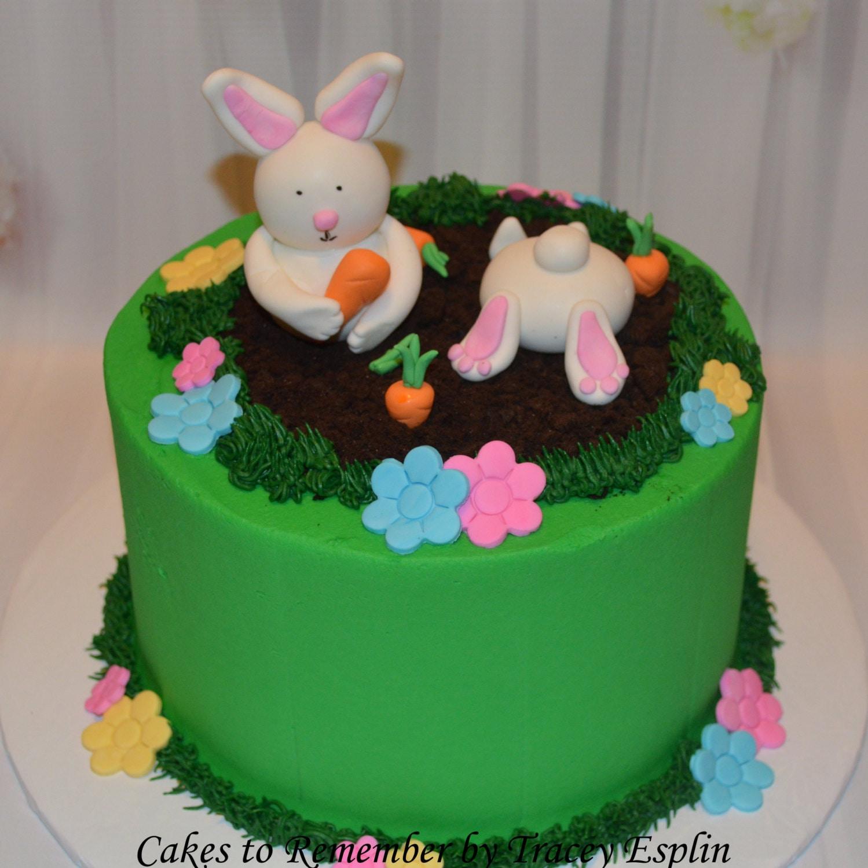Fondant Easter Bunny Cake Decorating Set Fondant Bunny