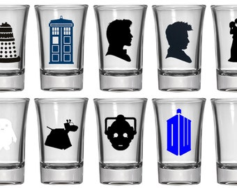 1.5oz Shot Glass | Doctor Who