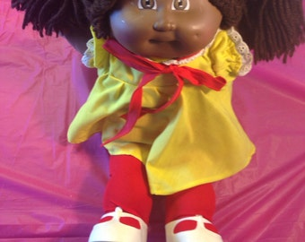 Cabbage Patch Girl with pigtails