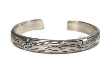 Vintage Tommy Singer Navajo Southwestern Cuff Bracelet