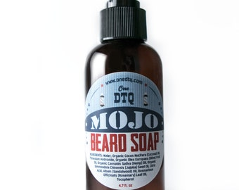 Beard Soap- MOJO Blend is a perfect beard wash to clean both the beard and the sensitive skin