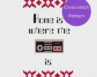 Pattern: Home is Where the NES Controller is