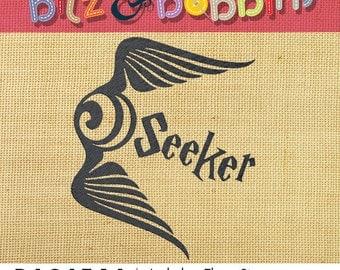 Harry Potter, Seeker - Machine Embroidery Design