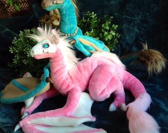 Dragon, Art Doll, Posable Dragon, Fantasy Skull Dragon, Customizable Wyvern, Mythical Creature, SkullWyrm, Made to Order