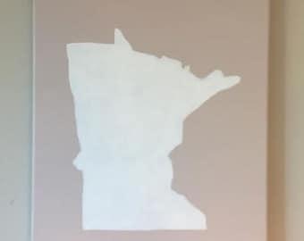 Minnesota Outline Etsy
