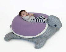Floor Nanny Pillow For Baby : Unique purple turtle related items Etsy