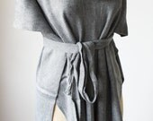 Gray Hooded Poncho Oversize Best Selling Poncho Trending Item Nursing Cover For Her Women Poncho Cardigan Front Wrap Shoulder Shawl Blouse