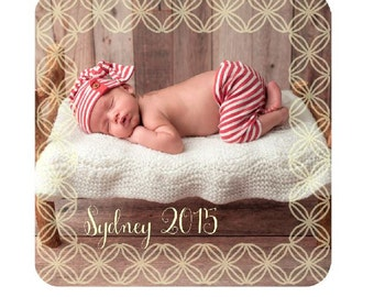 Personalized Photo Magnet - Wedding Gift, New Baby Gift, Photo Gift, Picture Gift, Grandparents Gift, Baby Shower Gift, Valentines Day Gift