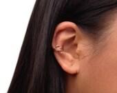 Copper Ear Cuff, Simple Cartilage No Piercing Earring