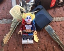 DC Comics/Suicide Squad Harley Quinn Mini-Figure Key Chain