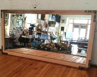 Refinished Vintage Mirror