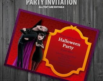 Hotel Transylvania Party Invitation