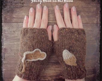 Squirrel Gloves
