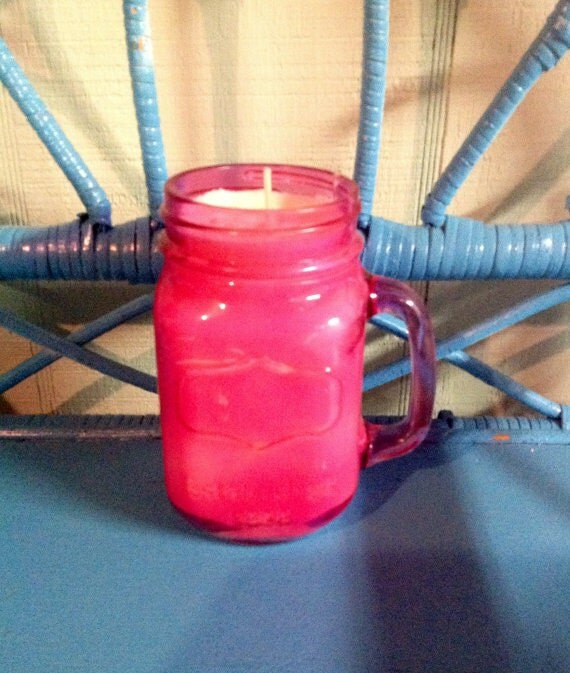 how to make homemade scented candles in mason jars