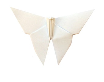 Little White Butterfly | White Butterfly | Garden Wedding Decoration | Origami Butterfly (50)