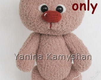 Baby Bear, amigurumi knitting pattern