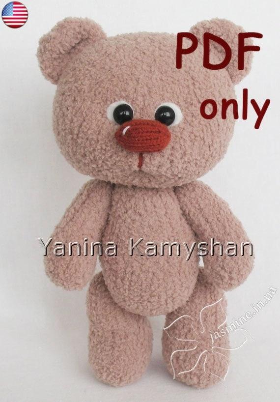 Amigurumi Baby Bear : Baby Bear amigurumi knitting pattern