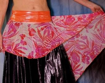 Chiffon Fishtail Skirt