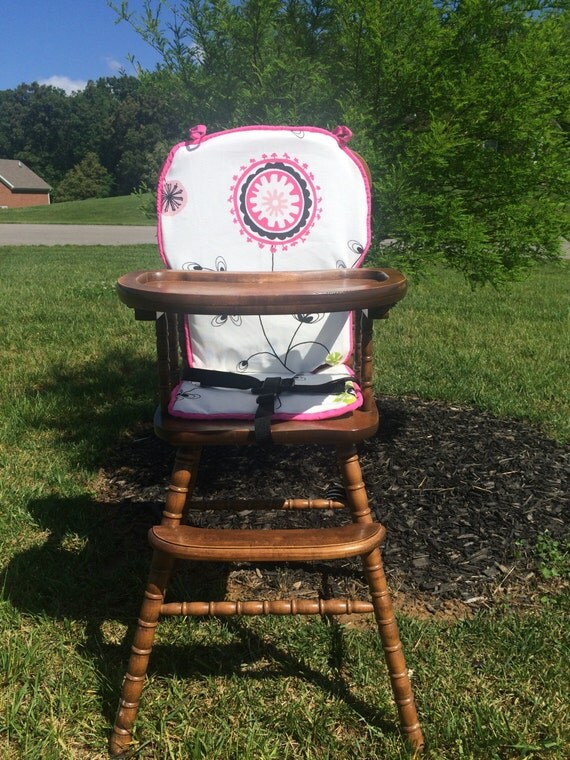 how to put graco high chair cover back on