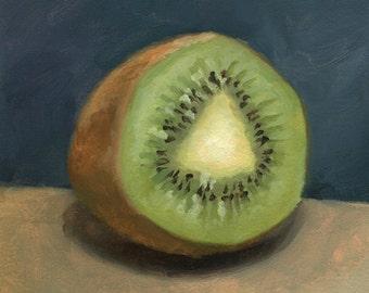 Kiwi Oil Painting
