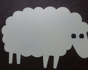 Sheep - Fun and Cute Wall Art  #S3