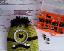 Crochet Hulk hat, crochet , kids hat, boy's hat, hulk, crochet boy's hat
