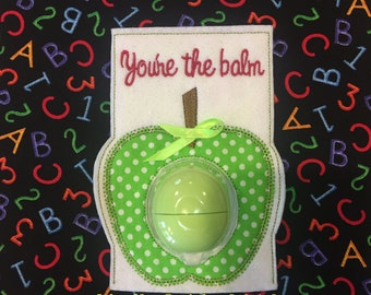 Apple EOS Lip Balm Teacher Gift