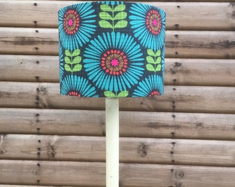 Colour Pop Retro Flower Lampshade