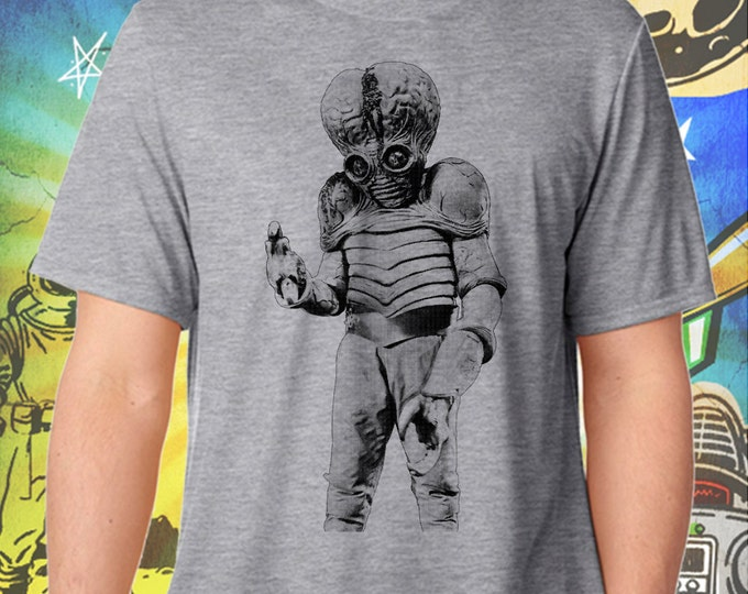 This Island Earth Mutant Gray Men's Tshirt
