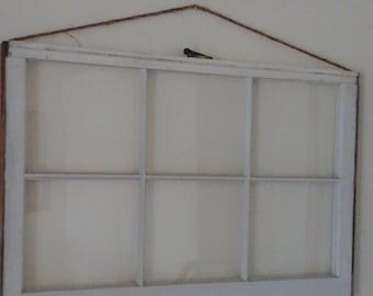 Vintage 6 panel window